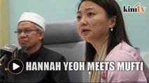 Hannah Yeoh meets FT mufti for advice on curbing social ills