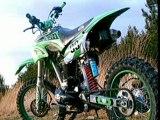 Chute Dirt bike