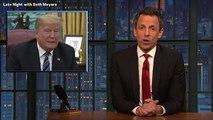 Seth Meyers Rips 'Weird, Weird' Donald Trump: He's 'Like A Space Alien With A Head Injury'