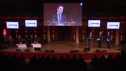 Discours d'Emmanuel Macron - Voeux de l'Arcep - janvier 2016