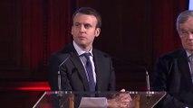 Extrait du discours d'Emmanuel Macron - Voeux de l'Arcep - janvier 2016