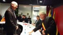 Antoing: prestation de serment du Dr Chevalier