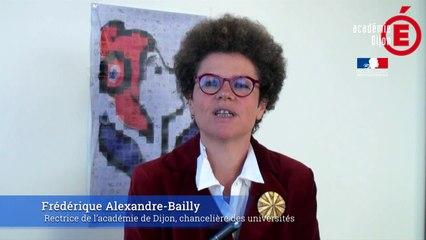 Message de fin d'année 2018 de la rectrice Frédérique Alexandre-Bailly