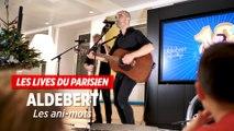 Aldebert chante « Les ani-mots » au Parisien