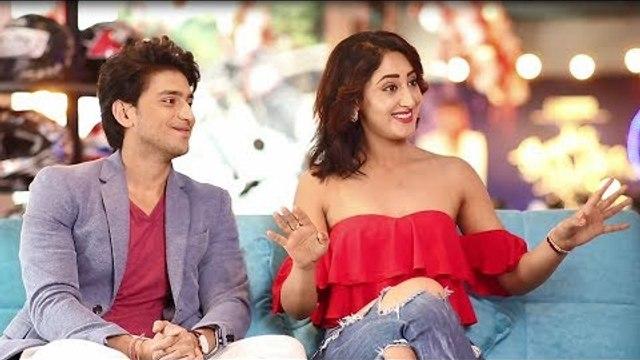 Promo: Episode 10 of #ShowbizwithVahbiz featuring adorable couple Kinshuk Vaidya and Shivya Pathania