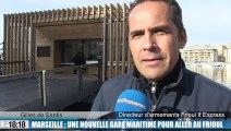 Une nouvelle gare maritime  pour aller au Frioul depuis le Vieux-Port de Marseille
