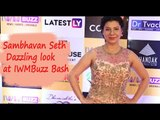 IWMBuzz: Sambhavana Seth looks gorgeous in Pink Gown at IWMBuzz Party