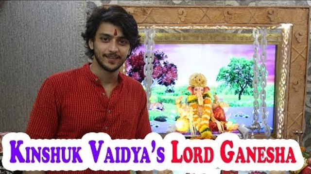 Ganesh Chaturthi celebration with Kinshuk Vaidya