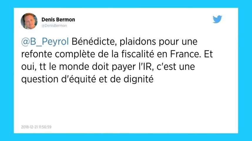 La députée LREM Bénédicte Peyrol veut «que tout le monde paye des impôts, dès le premier euro».
