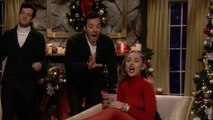 Miley Cyrus Performed A Revised Version Of 'Santa Baby'