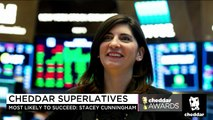 Cheddar Awards: Stacey Cunningham Is 2018's Most Likely to Succeed