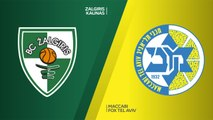 Zalgiris Kaunas - Maccabi FOX Tel Aviv Highlights | Turkish Airlines EuroLeague RS Round 14