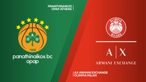 Panathinaikos OPAP Athens - AX Armani Exchange Olimpia Milan Highlights | Turkish Airlines EuroLeague RS Round 14