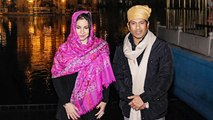 Sachin Tendulkar and wife offer prayers at Golden Temple |वनइंडिया हिंदी