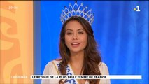 Invitées du journal : Vaimalama Chavez, Miss France Miss Tahiti et Sylvie Tellier.
