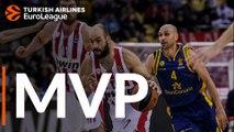 Turkish Airlines EuroLeague Regular Season Round 14 MVP: Vassilis Spanoulis, Olympiacos Piraeus