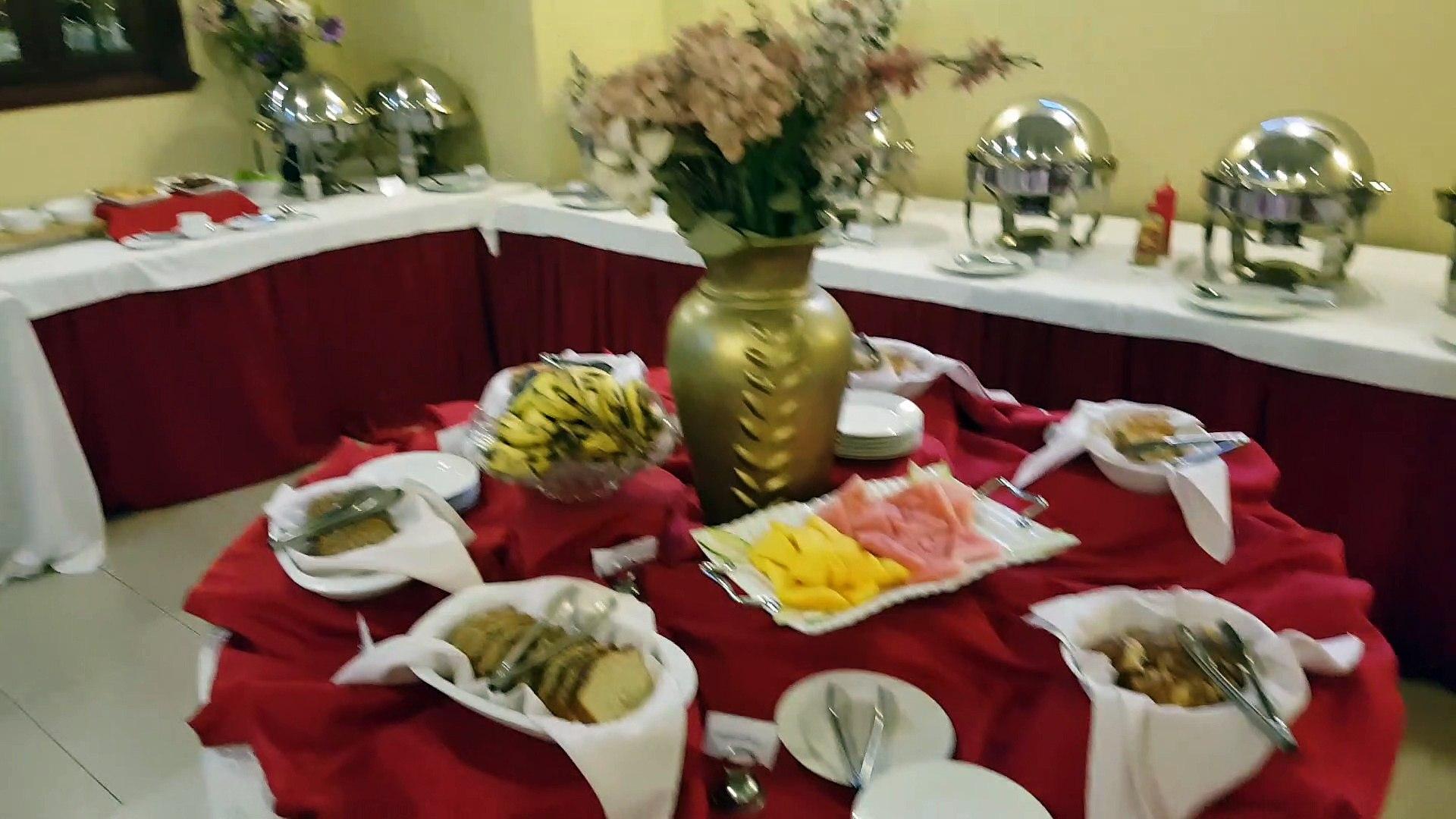 Breakfast in the Addis Regency Hotel - Addis Ababa, Ethiopia