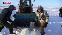 De l'eau du lac comme eau potable en Russie
