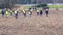 Voreppe : affrontements de plus en plus violents entre gilets jaunes et gendarmes