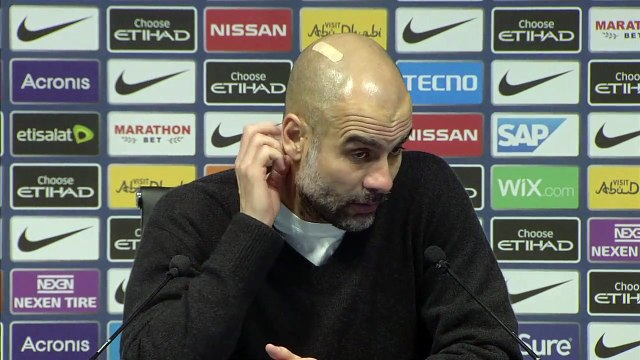 Guardiola not disappointed with Manchester City after 3-2 defeat to Crystal Palace
