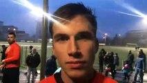 Coupe du Rhône – Lucas HEE réagit après la qualification du FC CROIX-ROUSSIEN contre l'O SAINT-GENIS LAVAL