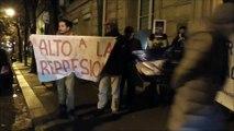 """A l'Ambassade du Nicaragua à Paris : """"Libérez les prisonniers !"""""""