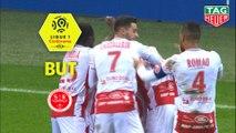 But Hyunjun SUK (7ème) / Stade de Reims - SM Caen - (2-2) - (REIMS-SMC) / 2018-19