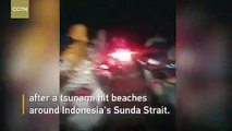 En direct - Tsunami cette nuit en Indonésie : Au moins 168 personnes ont été tuées et près de 750 blessées - Le raz-de-marée a frappé les plages du sud de Sumatra et de l'extrémité ouest de Java