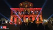 Spectacle son et lumière suivi du feu d'artifice à Sorgues. 22 décembre 2018 #UnNoelASorgues