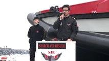 """Türkiye'nin Sivil Amaçlı Arama Kurtarma Botu """"Barbaros"""" Denize İndirildi"""