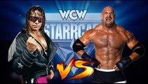 Bret Hart (c) vs. Goldberg WCW World Heavyweight Title No Disqualification Match WCW Starrcade 1999