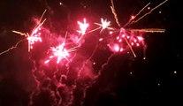 Châtillon-sur-Seine : le feu d'artifice de la soirée féérique, tiré le 23 décembre