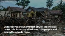Hundreds Killed And Injured After Unexpected Indonesian Tsunami