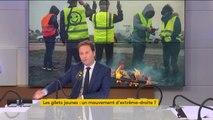 """""""Gilets jaunes"""" : """"Ceux qui étaient samedi à Paris étaient des gens d'extrême droite, des complotistes et des antisémites"""" (LREM)"""