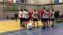 Volley - Coupe du Hainaut : ambiance de fin de match à Saint-Luc Mons