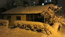 Bitlis'te kar yağışı etkili oluyor...139 köy yolu ulaşıma kapandı