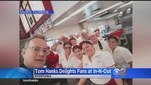 Tom Hanks buys everyones In-N-Out burgers for Christmas !