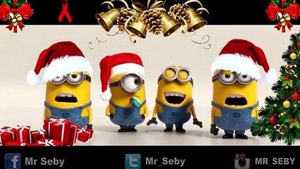 Les minions nous chantent « Petit Papa Noël » d'une façon… HILARANTE!