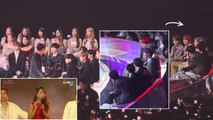 BTS REACTION TO HONG JIN YOUNG(ホンジニョン)『GOODBYE (TANGO VER.)』181201 MMA【防弾少年団 BTS x ブルピン BLACKPINK x MOMOLAND x WANNA ONE】