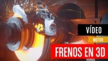 Primeros frenos impresos en 3D