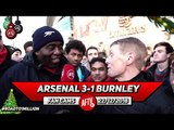 Arsenal 3-1 Burnley | Fan Ran From Burnley To The Emirates Raising Money For Charity!