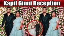 Kapil Sharma & Ginni Reception: Bharti Singh poses with Haarsh Limbachiyaa in lehenga | Boldsky