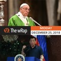 Pope Francis cautions against materialism   Midday wRap