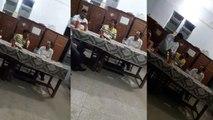 फर्रुखाबाद के डीएसओ कार्यालय में कबाब के साथ छलके जाम, देखें वायरल वीडियो