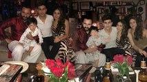 Sara Ali Khan's Christmas : Kareena Kapoor Khan | Saif Ali Khan | Taimur Ali Khan | Boldsky