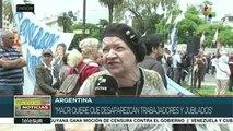Argentina: jubilados denuncian no tener con qué celebrar la Navidad