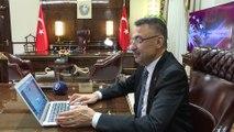 Cumhurbaşkanı Yardımcısı Oktay, AA'nın 'Yılın Fotoğrafları' oylamasına katıldı - ANKARA