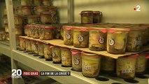 Alimentation : après la grippe aviaire, fin de la crise pour le foie gras