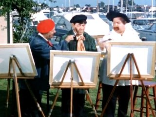 3 Stooges Color Compilation