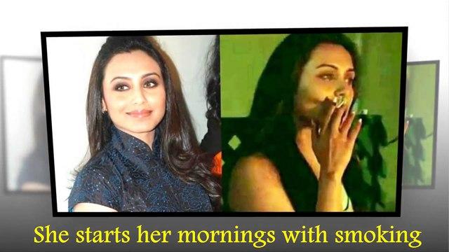 Top 10 Bollywood celebrities viral breaking news!!Bad Habits of Bollywood Celebrities